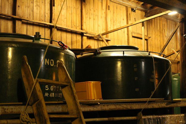 片山酒造の酒蔵