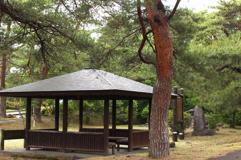 日光運動公園の休憩所
