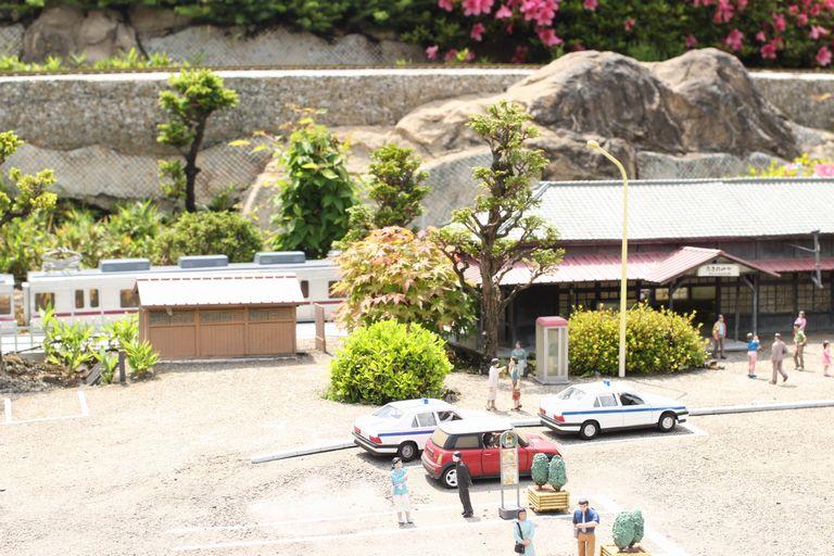 東武ワールドスクウェアの電車