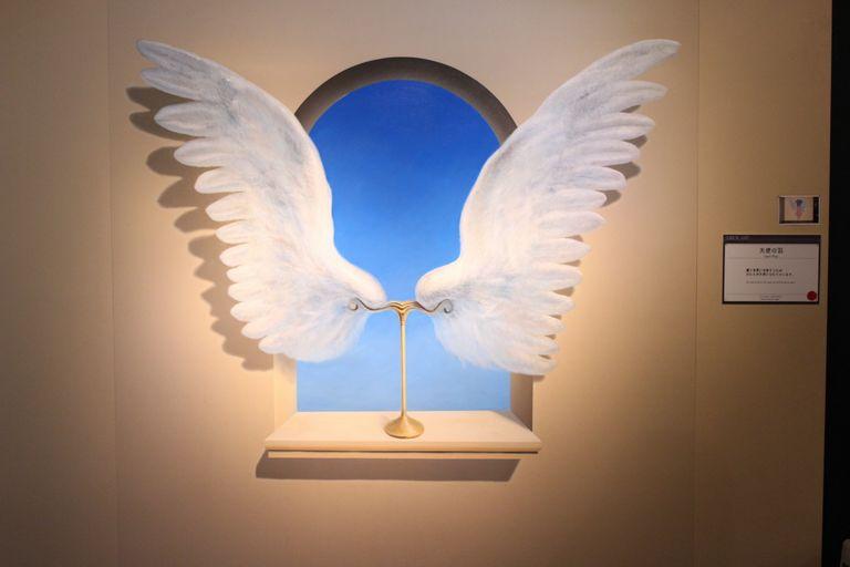 天使のトリックアート