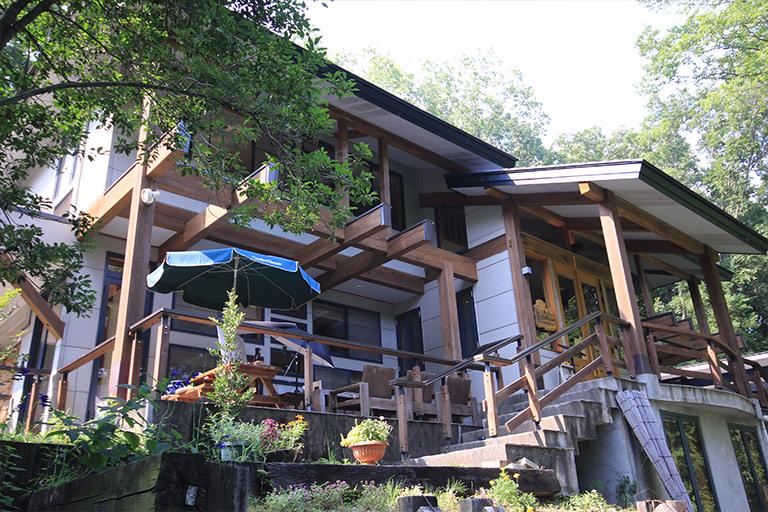 森のレストラン 外観