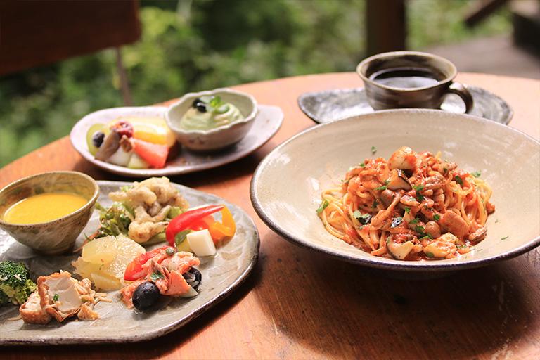森のレストラン パスタ