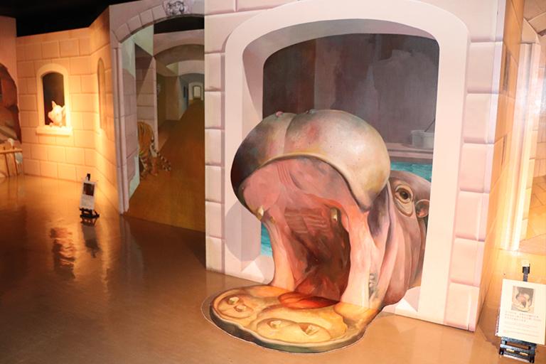 トリックアートミュージアム 館内