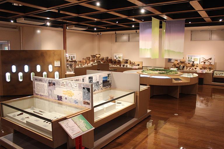 松本市考古博物館 展示
