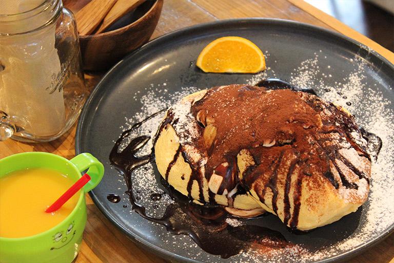 NAKAMACHI CAFE パンケーキ