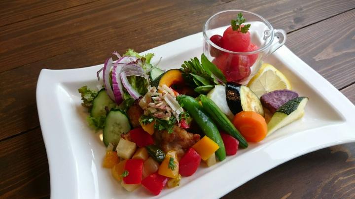 10種類の温野菜 800円