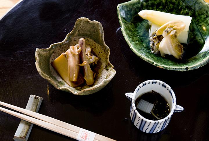 和菜 蓬の料理