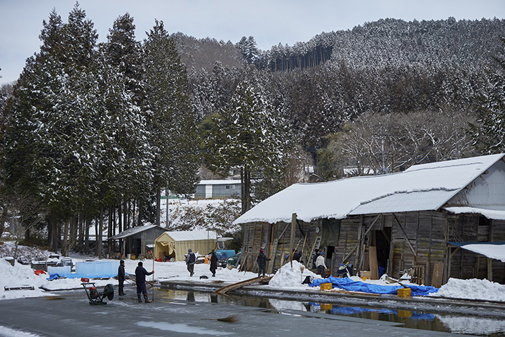 天然氷が生まれる場所に集まる「かき氷」のプロたち