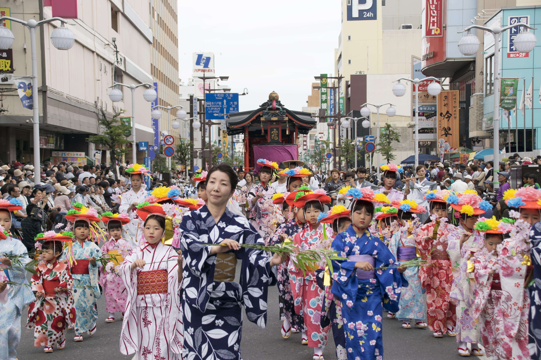 「笹の葉踊り」も、江戸時代に由来を持つ芸能のひとつ。