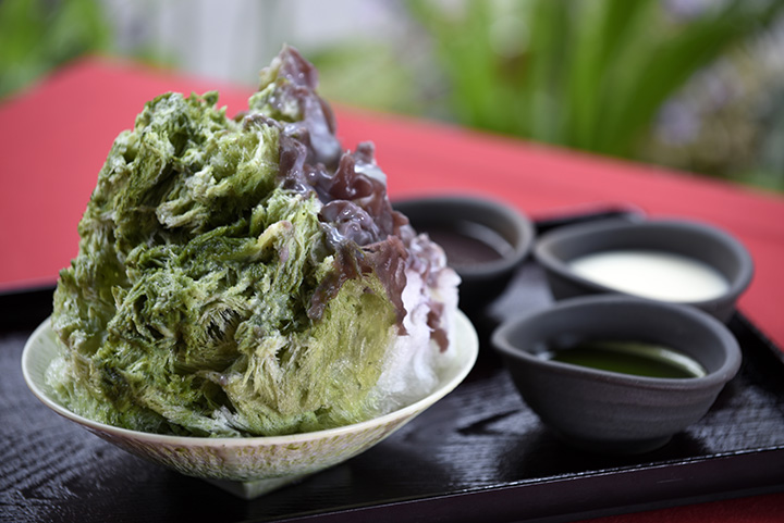 あん・抹茶・練乳の3種掛け 1,000円