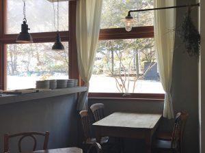 サジロ カフェ リンデン店内画像