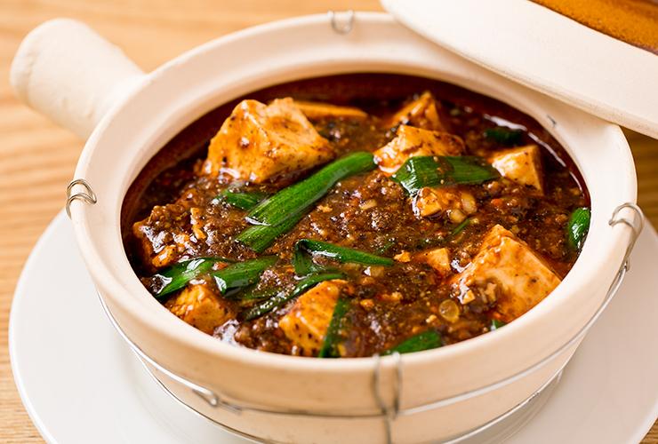 麻婆豆腐ランチ 1,580円 ※器は異なる場合があります