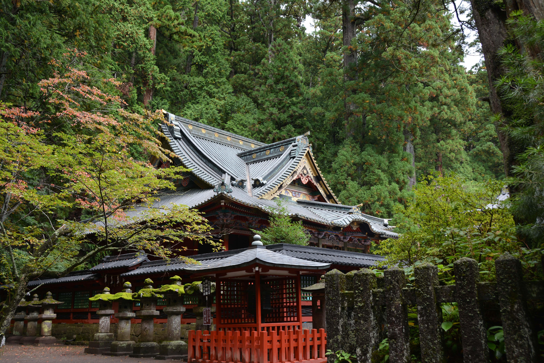 日光二荒山神社の風景