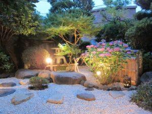 ステーキ池田庭園画像