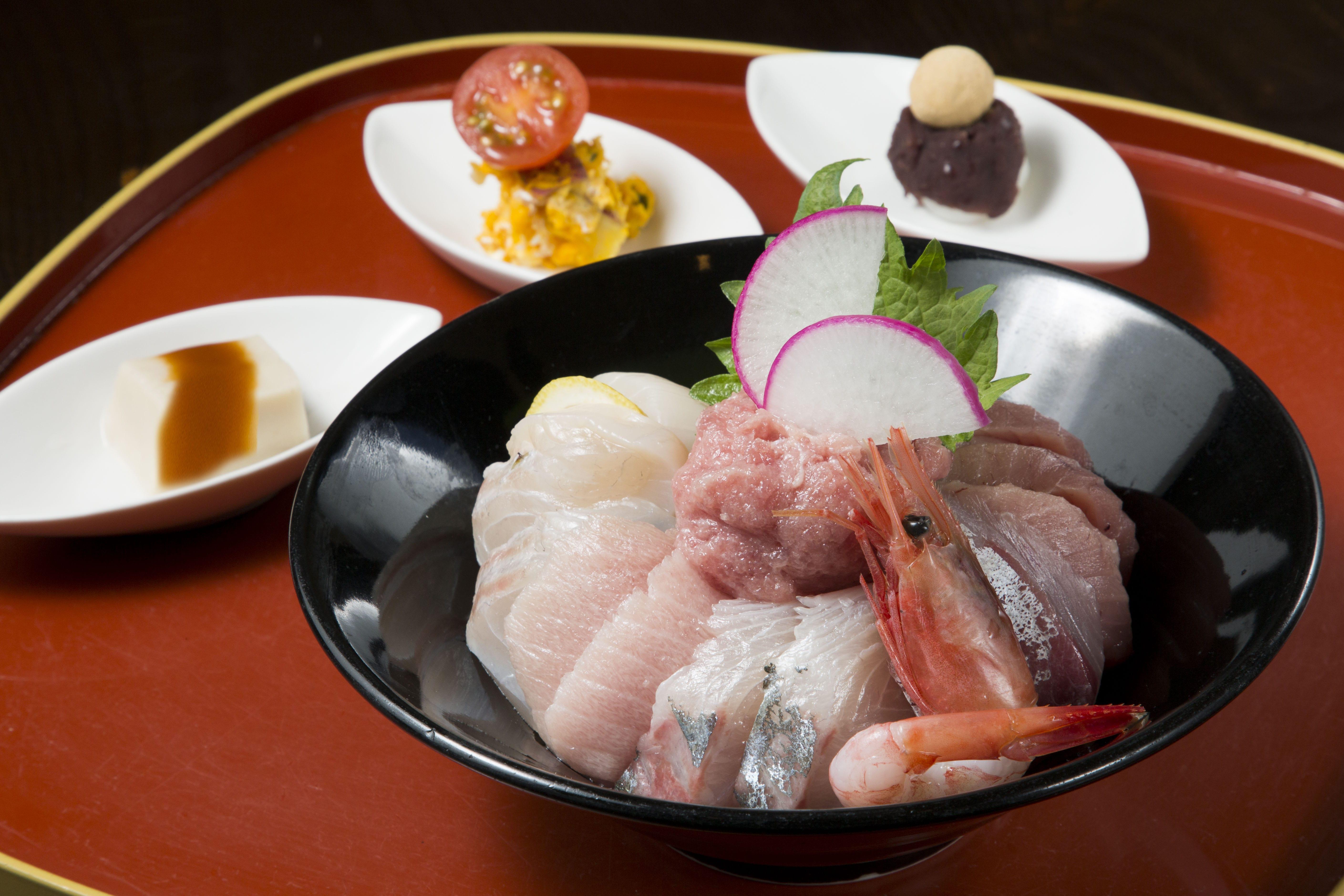 ごはん処花季の海鮮丼