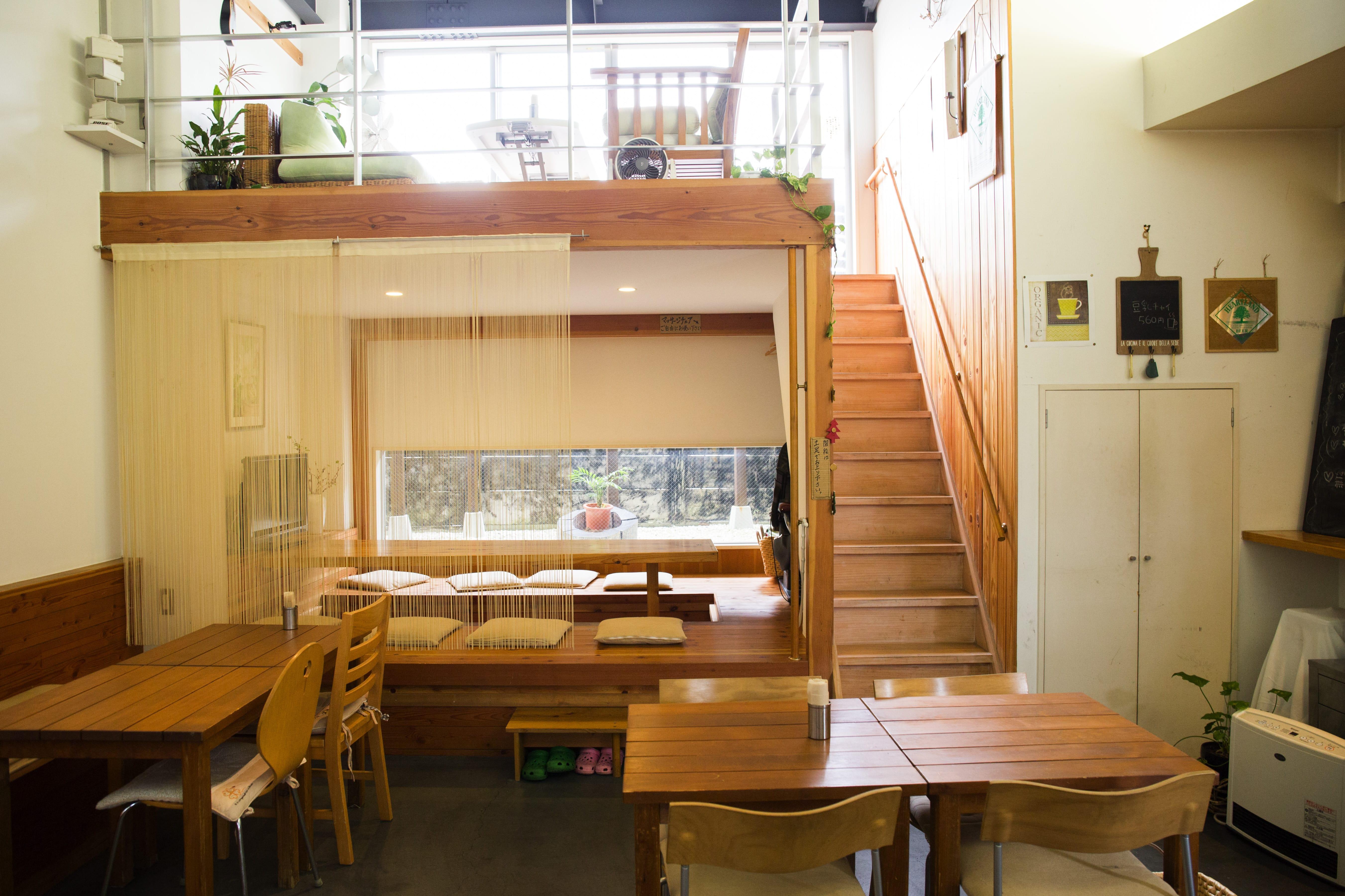 オーガニック和食&Cafe Chant店内風景