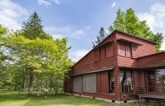 自然を感じる軽井沢の美術館
