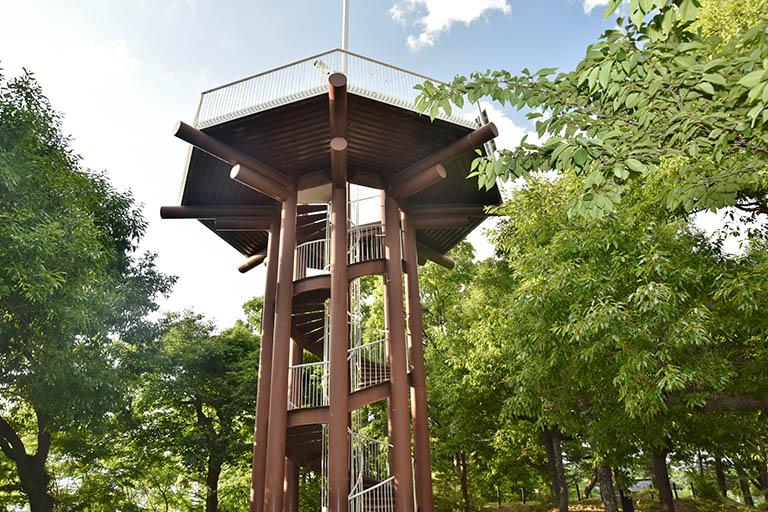 城山公園 展望台
