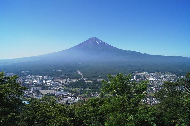~河口湖~富士山パノラマロープウェイ