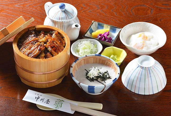 うなぎとろろ茶漬け(デザート付き) 4,428円