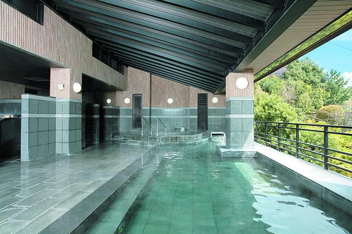 浴場「レインボー風呂