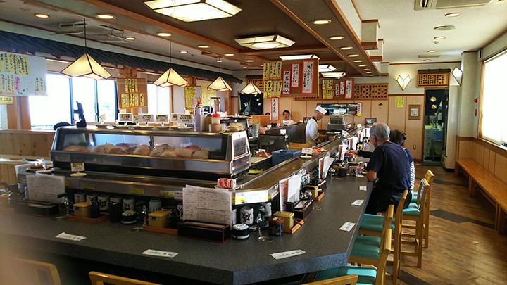 希少な地物、近海物が食べられる実力派回転寿司