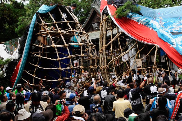 穂高神社 御船祭り
