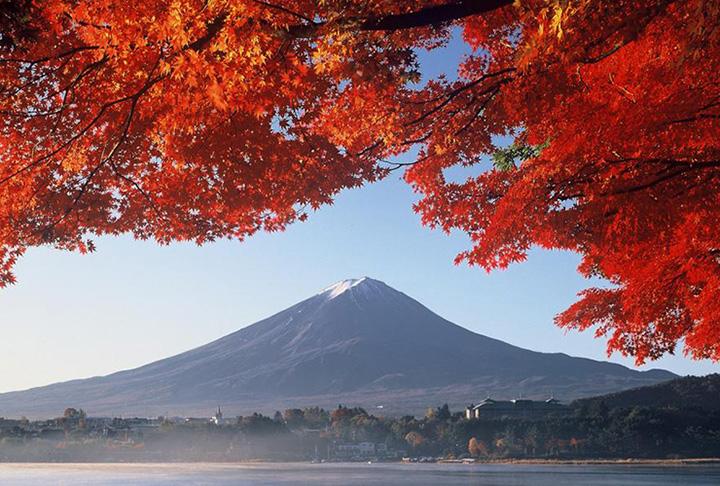河口湖(富士五湖)の秋(9~11月)の気温・服装について