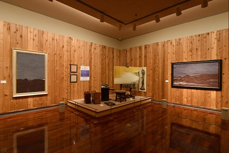 松本市民美術館 展示室