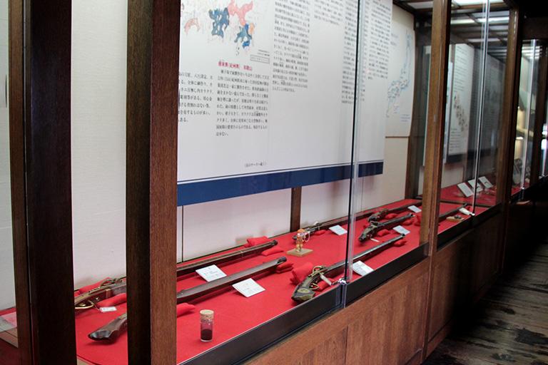松本城 火縄銃