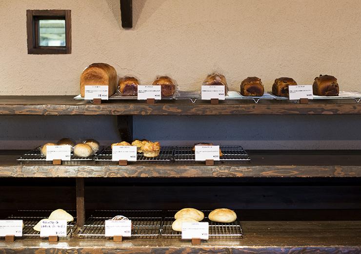 ル・フィヤージュのパン