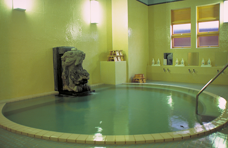 観光・文化施設 東海館の大浴場