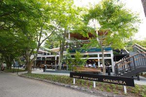 ベーカリー&レストラン 沢村 旧軽井沢本店
