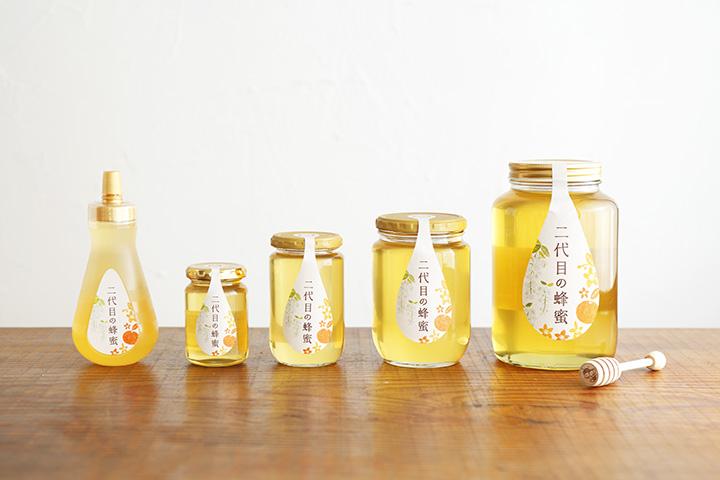 二代目の蜂蜜 750円~(200g~)
