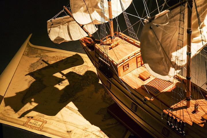 家康の下命により洋式帆船を建造した地、静岡県伊東市