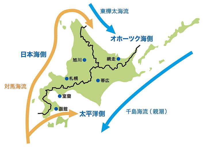 北海道の気候の特徴