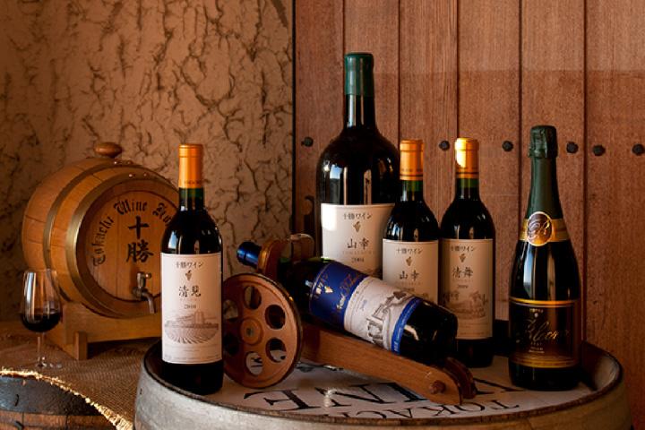 池田町の特産品に育った「十勝ワイン」