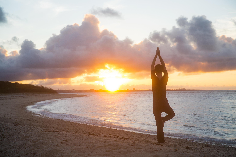 早朝のアイヤル浜