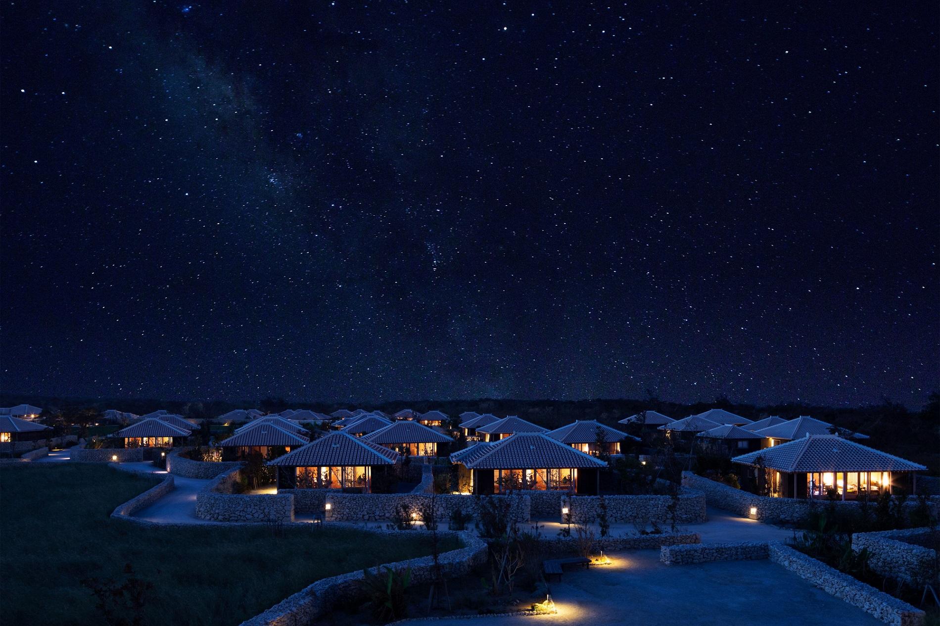 竹富島の星空