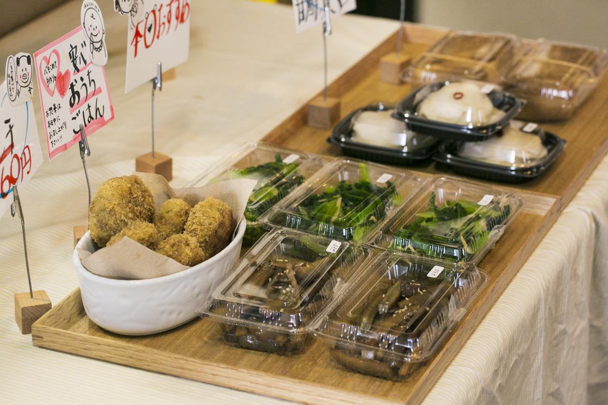 手作りの総菜は、店頭に並んだ途端に売り切れてしまうほどの人気