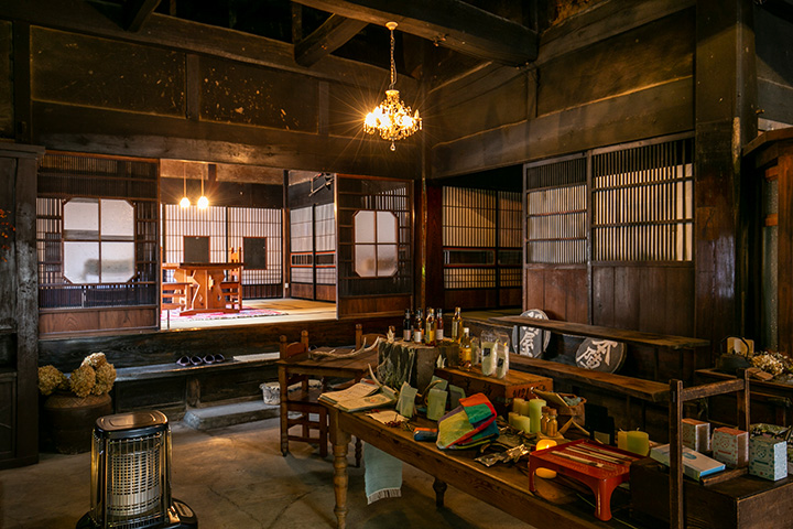 長澤宿にある築170年の古民家は威風堂々とした佇まい