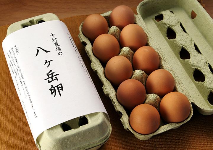 併設するショップでは、中村農場の卵を購入できます
