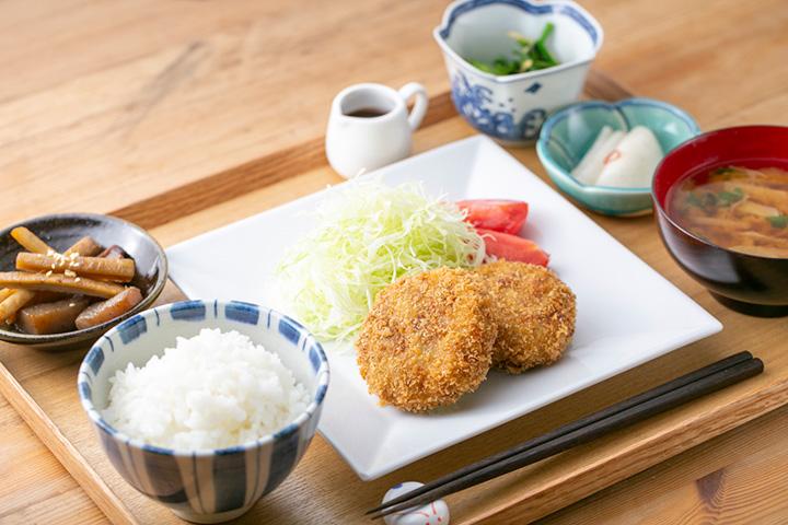 コロッケ定食¥1,000