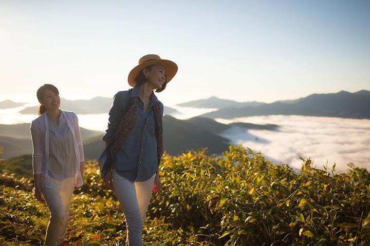 トマム山の登山ができるのは朝のみ