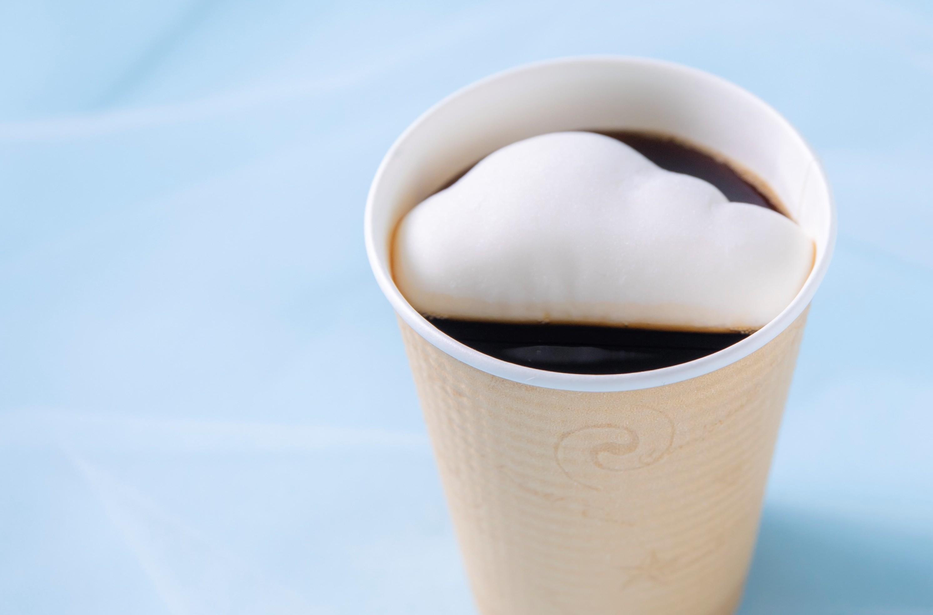 雲海コーヒー500円、雲海ソーダ500円