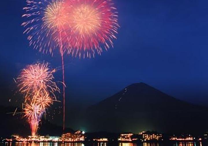 富士山・河口湖山開きまつり花火大会 7/6(土)20:00〜20:30