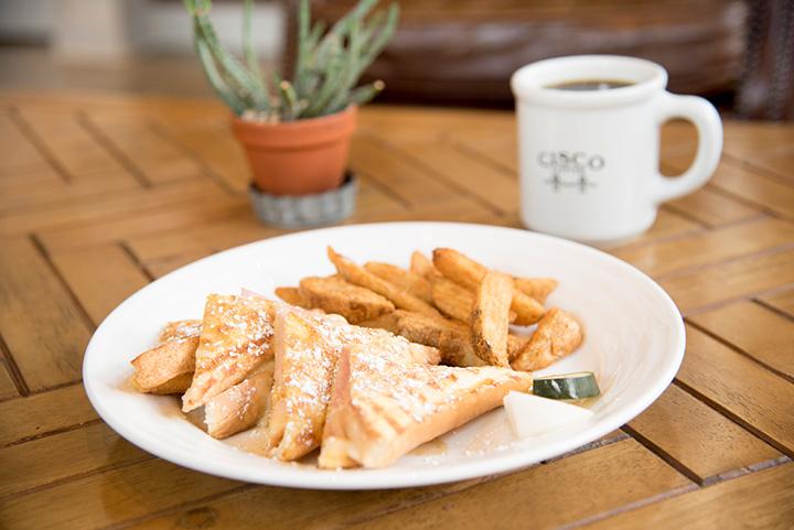 ランチの「ユニオンストリートサンドイッチ(ハム&チーズ)」1,000円と「HAND DRIP COFFEE(Vanilla)」480円