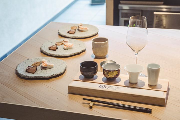 「杜庵(とうあん)」での日本酒体験「酒事(しゅじ)」5,400円(完全予約制)