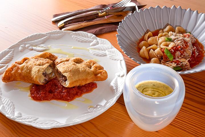ランチコース(前菜、パスタ、スープ付き)1,650円