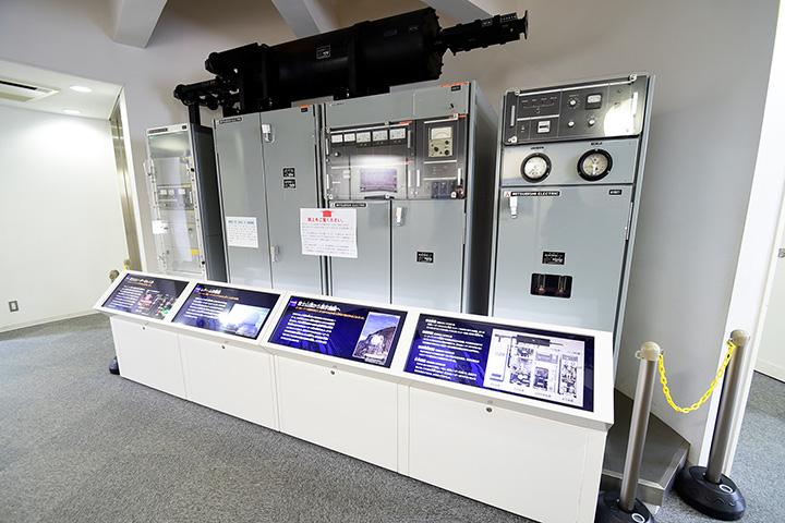富士山レーダーの歴史や貴重な資料を展示